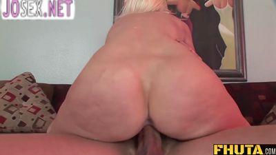 Slim mature anal