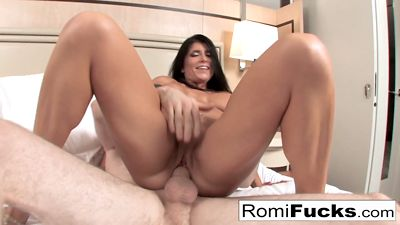 Stepmom Romi Rain wanted to have sex and fucked by stepson...