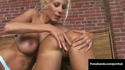 Two sexy Busty lesbians fuck pussy